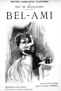 Couverture d'une édition de Bel ami