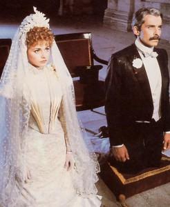 Le mariage de Suzanne et de Georges. Image extraite d'une adaptation filmique.