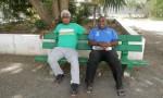 Bael Kaqea président de l'APE et Ht Wadria Haocas, aumônier de Do Kamo