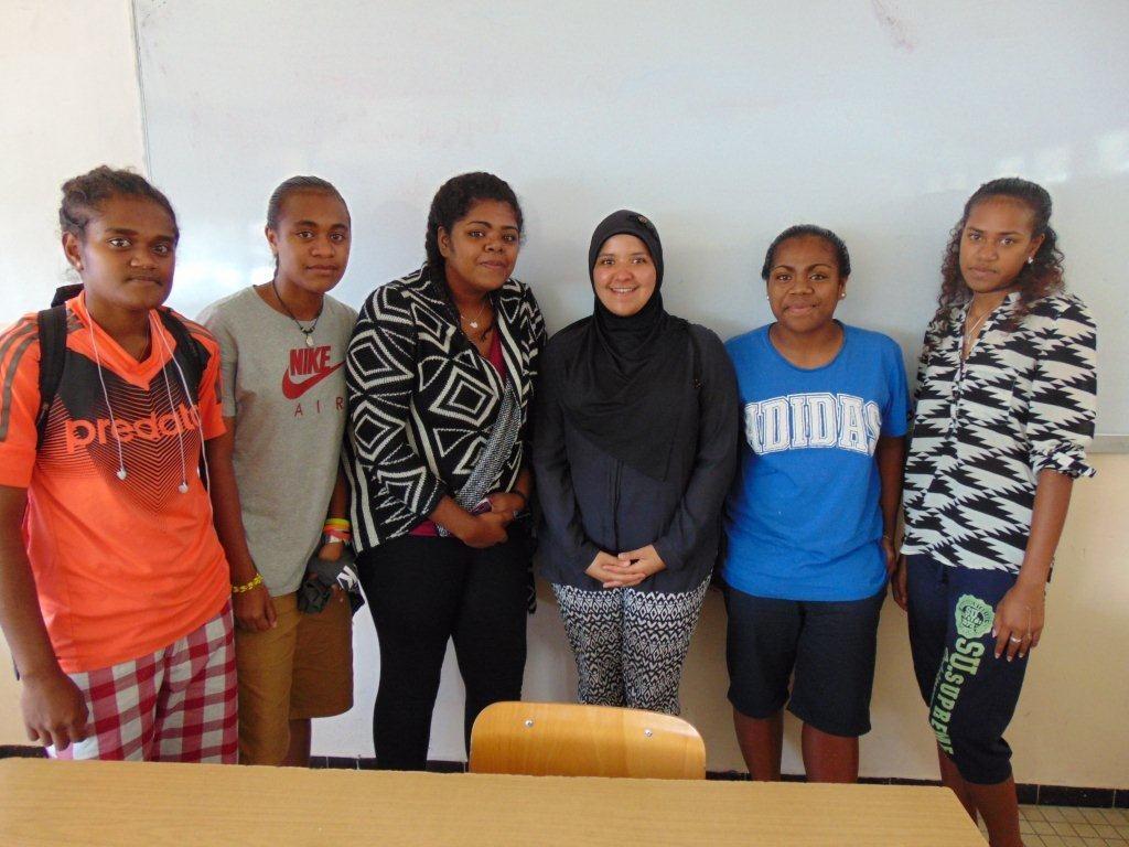 Une professeure de français néo-zélandaise à Do Kamo
