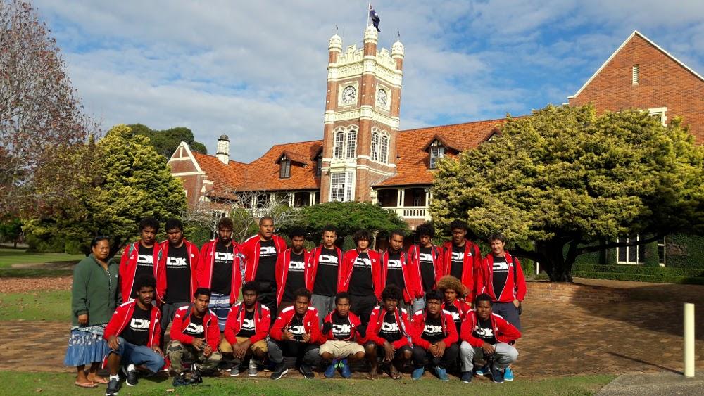 La section foot en tournoi à la Gold Coast - Do Kamo finit 2ème du tournoi