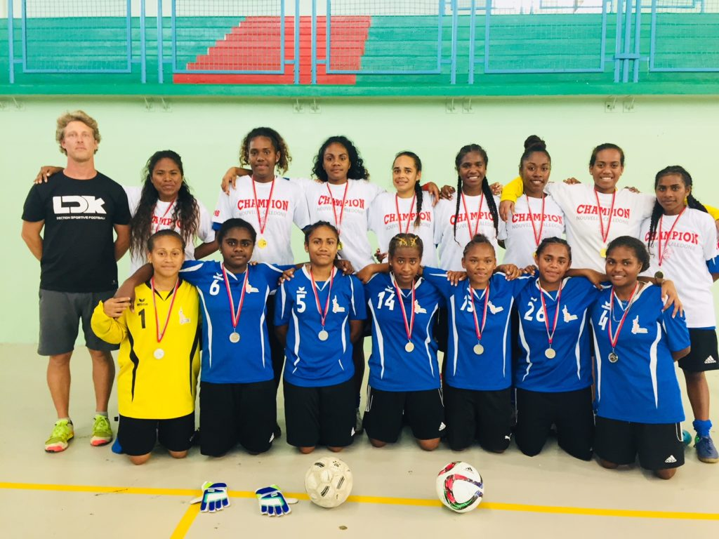 Les filles championnes de foot