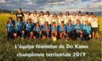 L'équipe de foot féminin de Do Kamo championne territoriale UNSS