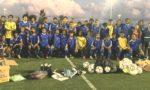 La Fédération Calédonienne de Football fait un don en matériel à la section foot de Do Kamo