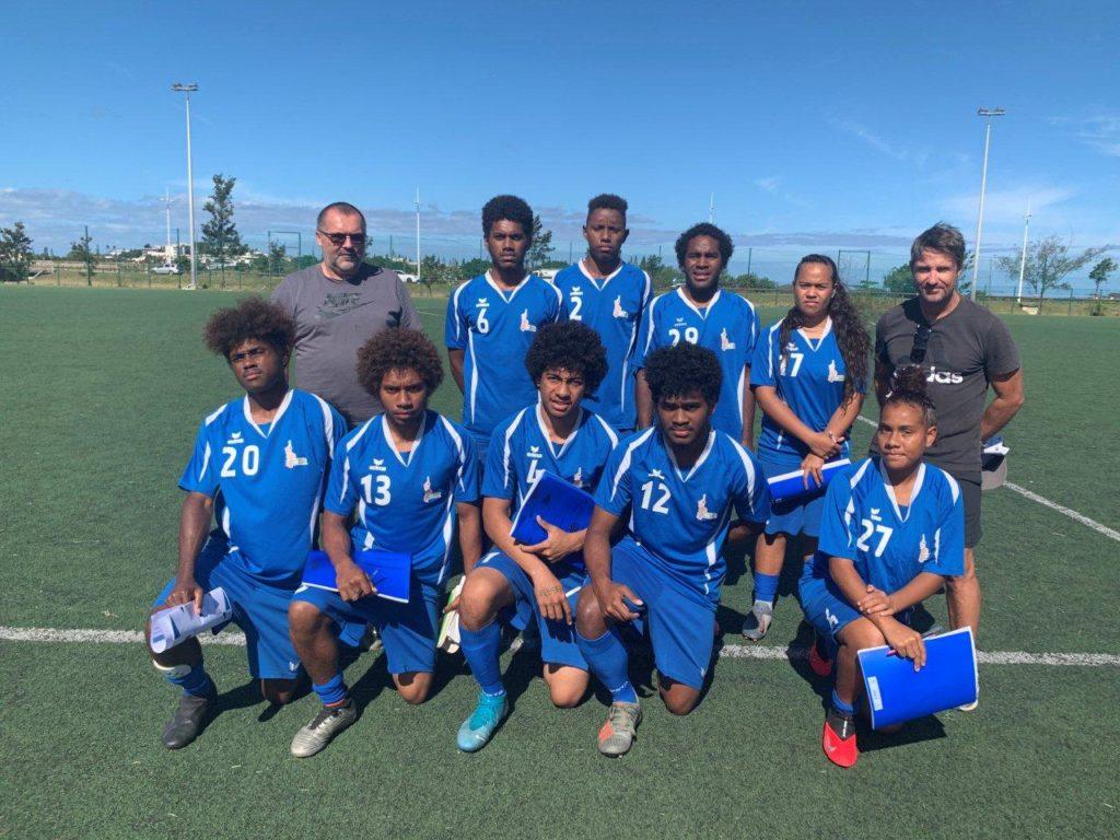 Nos footballeurs en formation d'éducateur