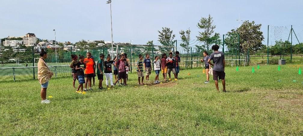 Journée Sports et cohésion organisée par les élèves de MC AG2S